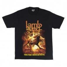 Футболка мужская Lamb Of God