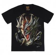 Футболка тотальная Dragon Head