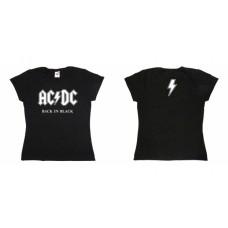 Футболка женская AC-DC