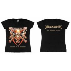 Футболка женская Megadeth