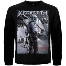 Футболка с длинными рукавами Megadeth