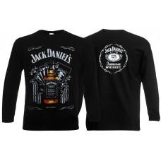 Футболка с длинными рукавами Jack Daniels