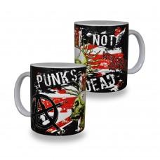 Чашка Punks Not Dead