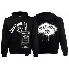 Балахон женский с молнией Jack Daniels