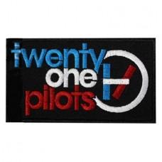 Нашивка вышитая Twenty One Pilots