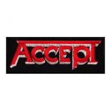 Нашивка вышитая Accept