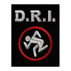 Нашивка вышитая D.R.I.