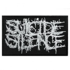 Нашивка вышитая Suicide Silence