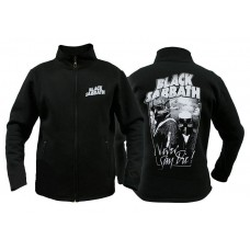 Свитер мужской с молнией Black Sabbath